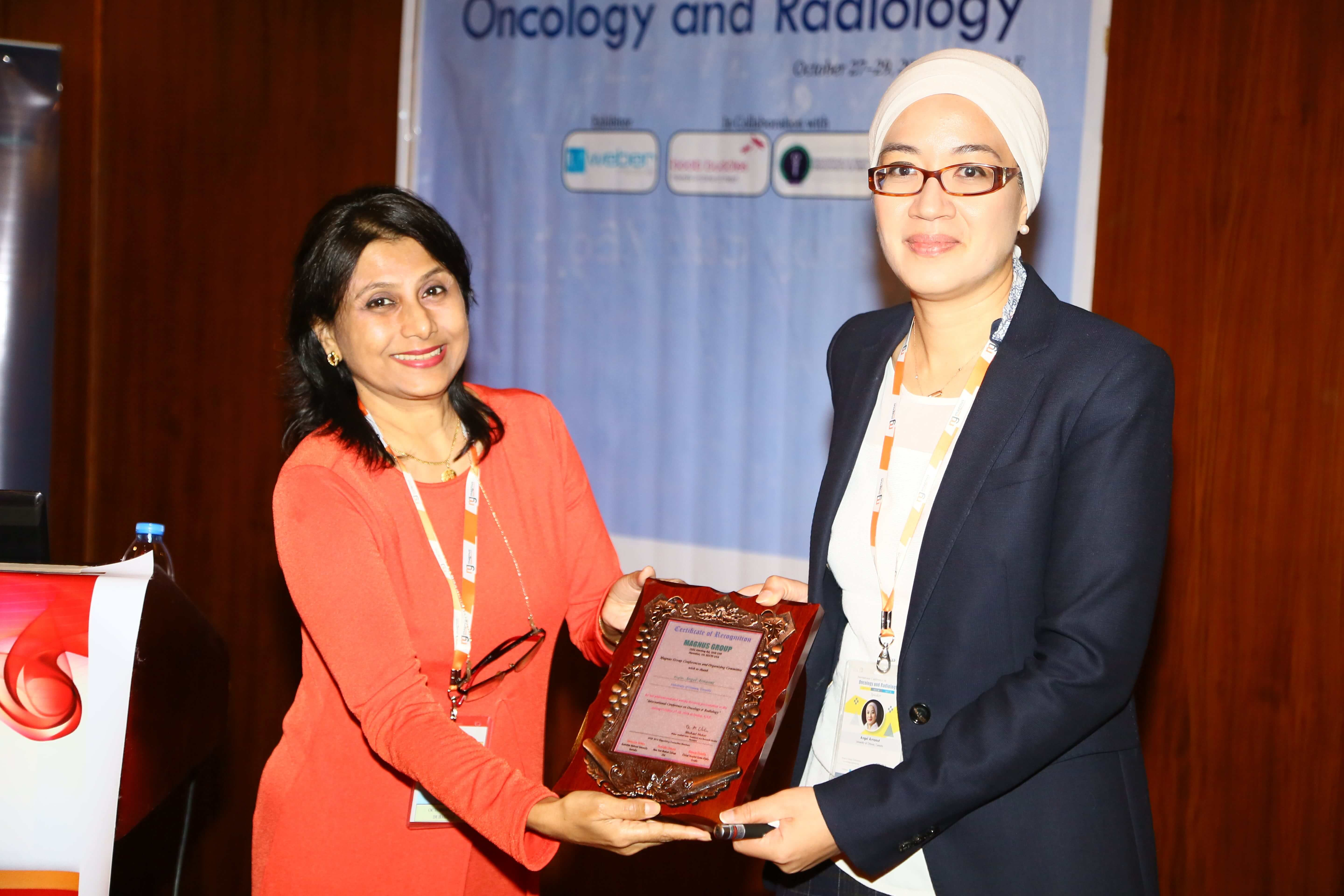 Cancer conference - Dr. Angel Arnaout