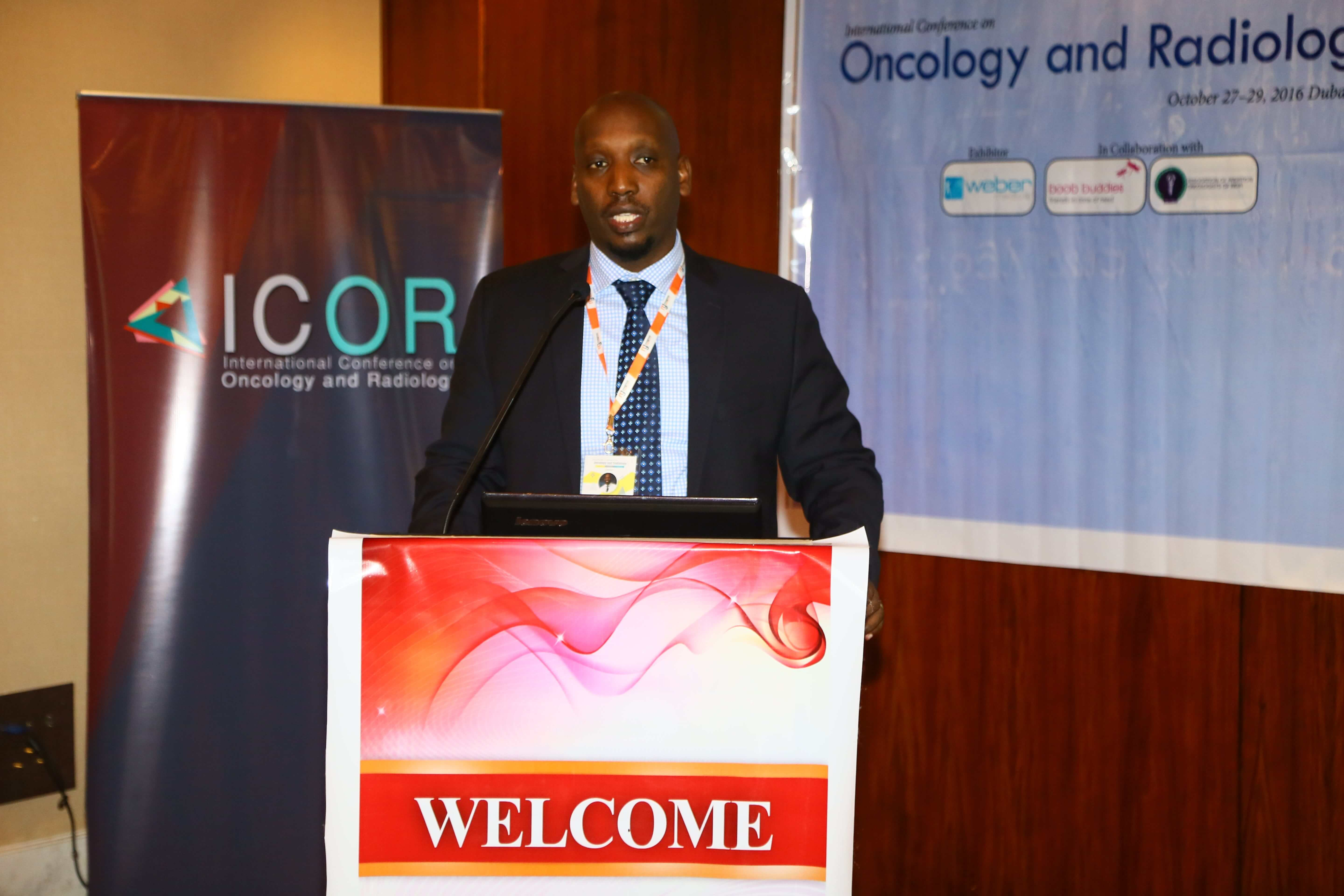 Cancer research conferences - Dr. Christian Ntizimira