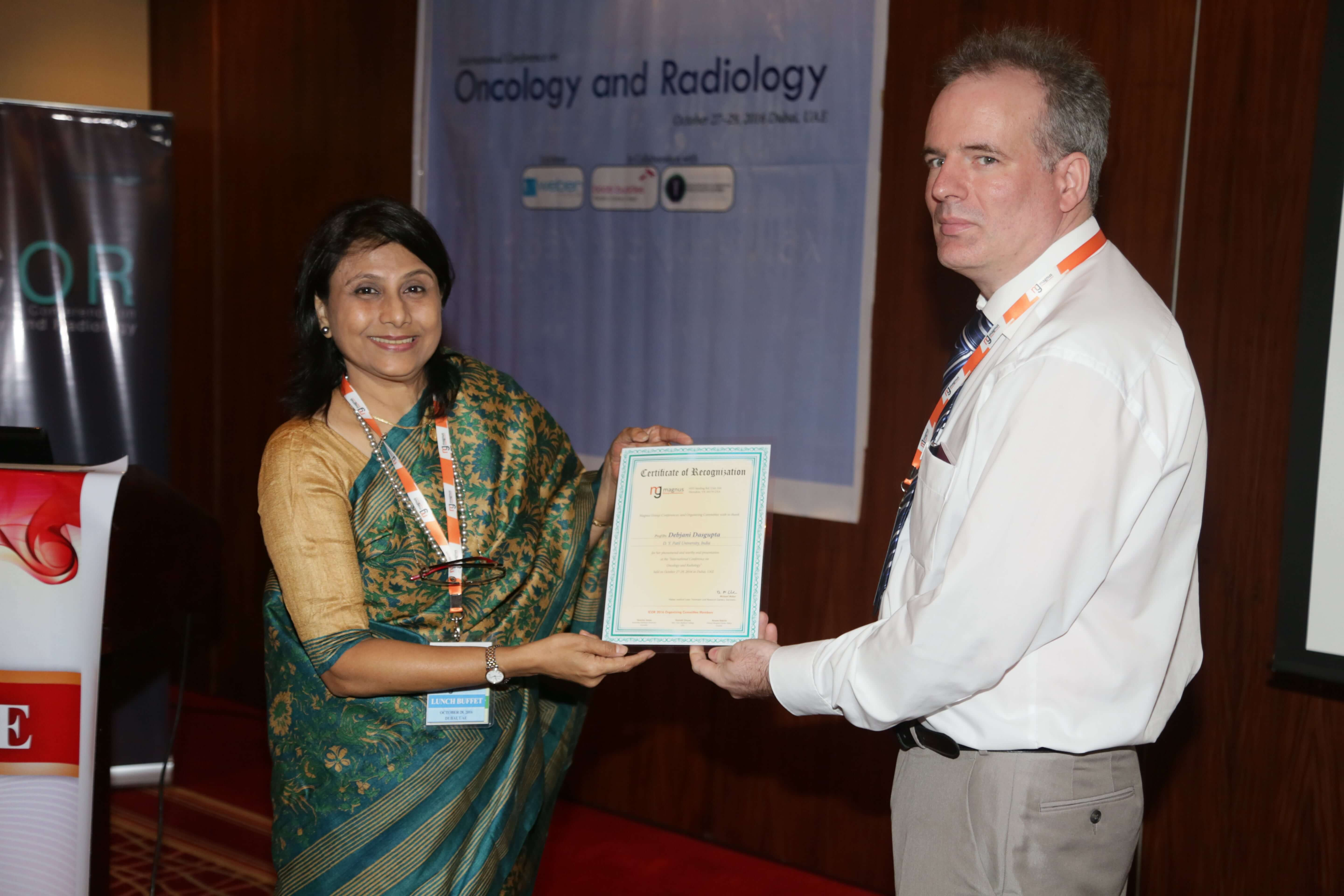Cancer Congress - Dr. Debjani Dasgupta