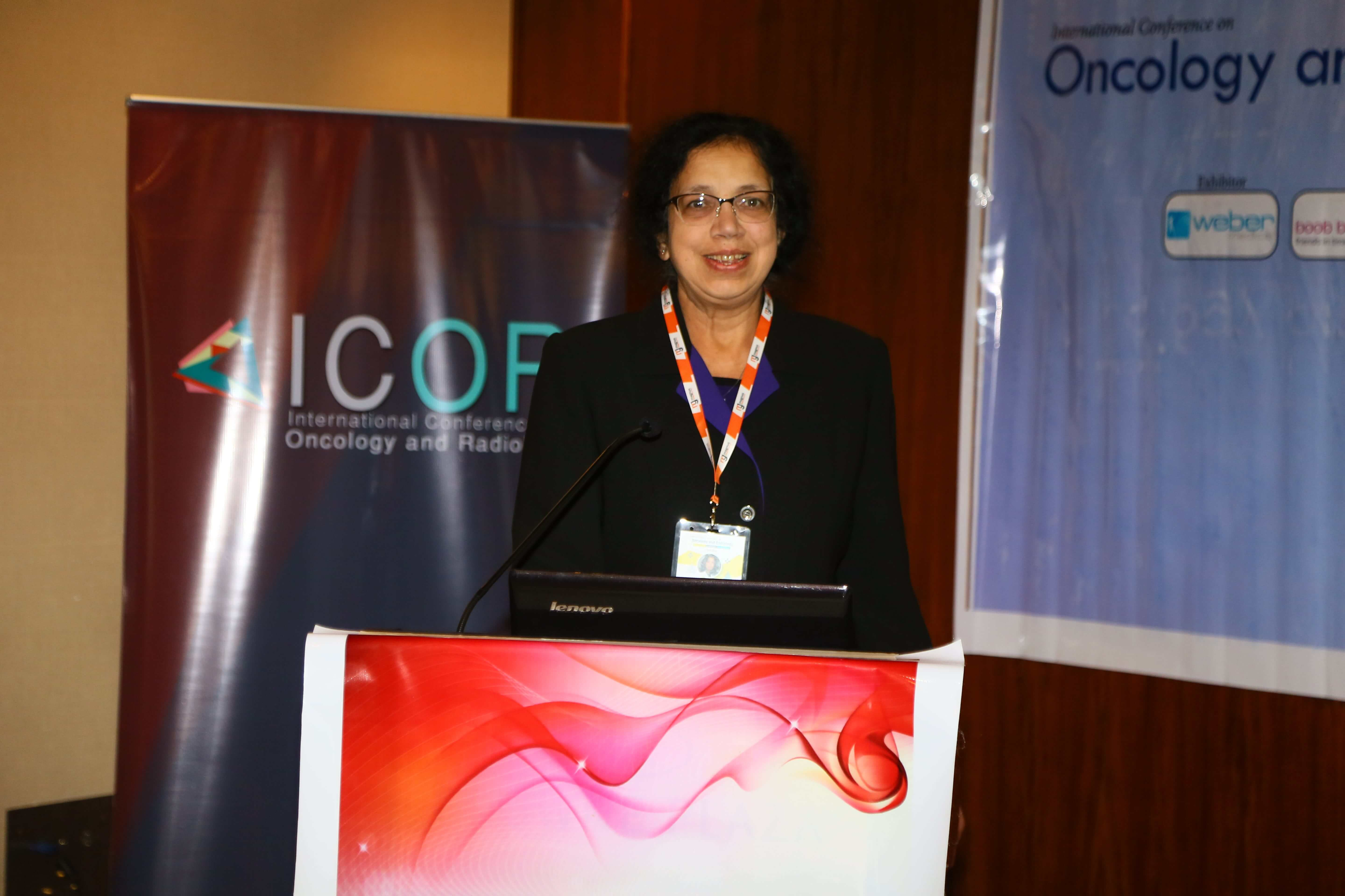 Cancer Congress - Dr Jayashree Paknikar