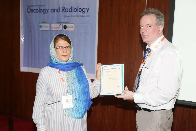 Cancer Congress - Dr.Malihea Khaleghian