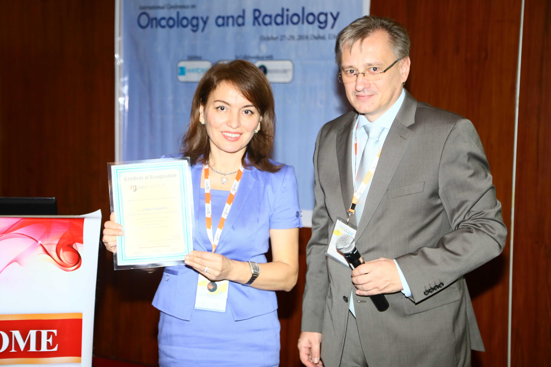 Cancer education conferences - Dr. Zulfiya Shafigullina