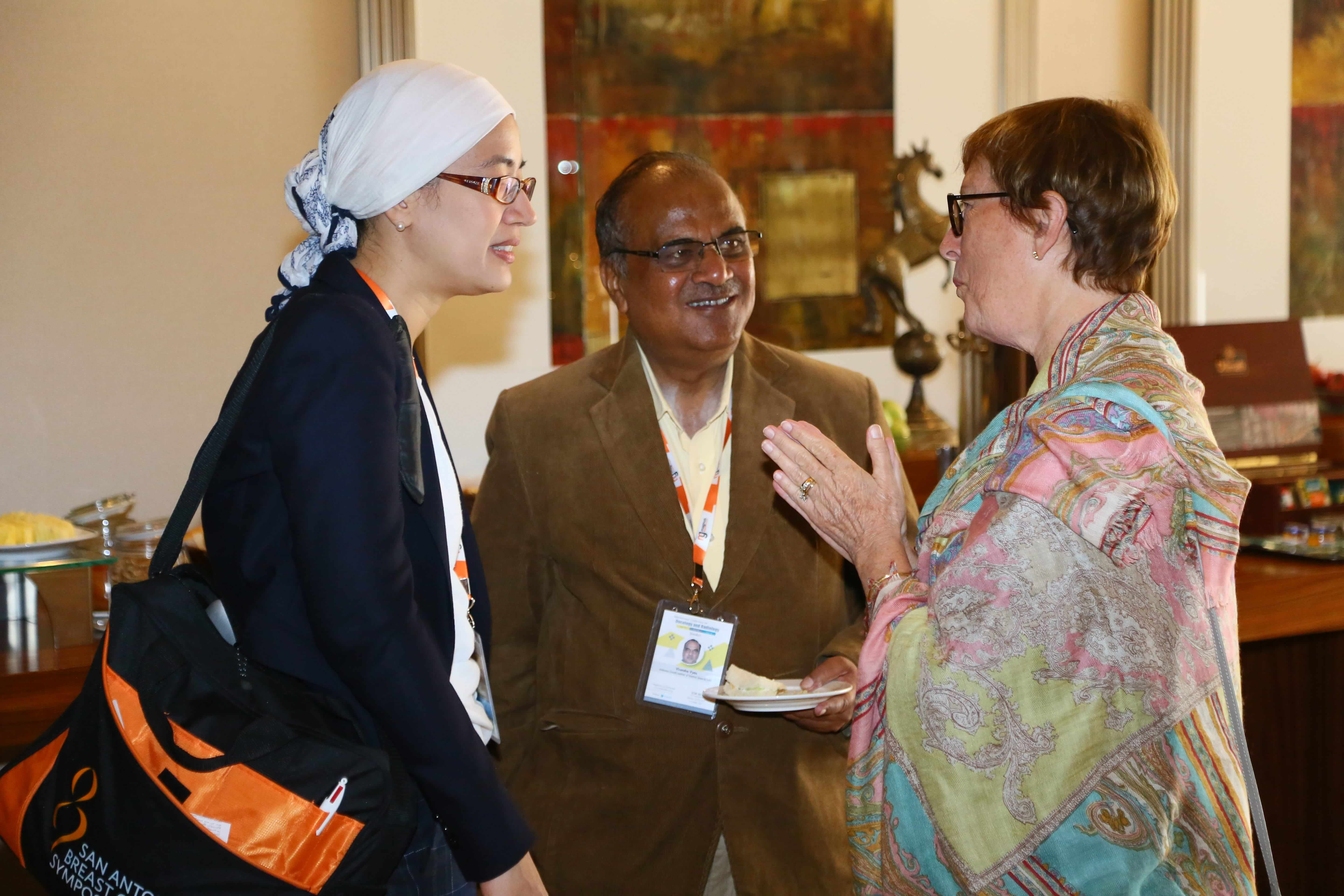 Cancer Conferences - ICOR 2016 Speakers during break