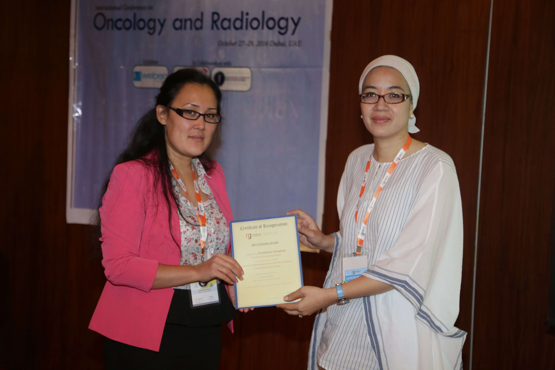 Cancer Conferences - Mrs. Orynbassar Karapina