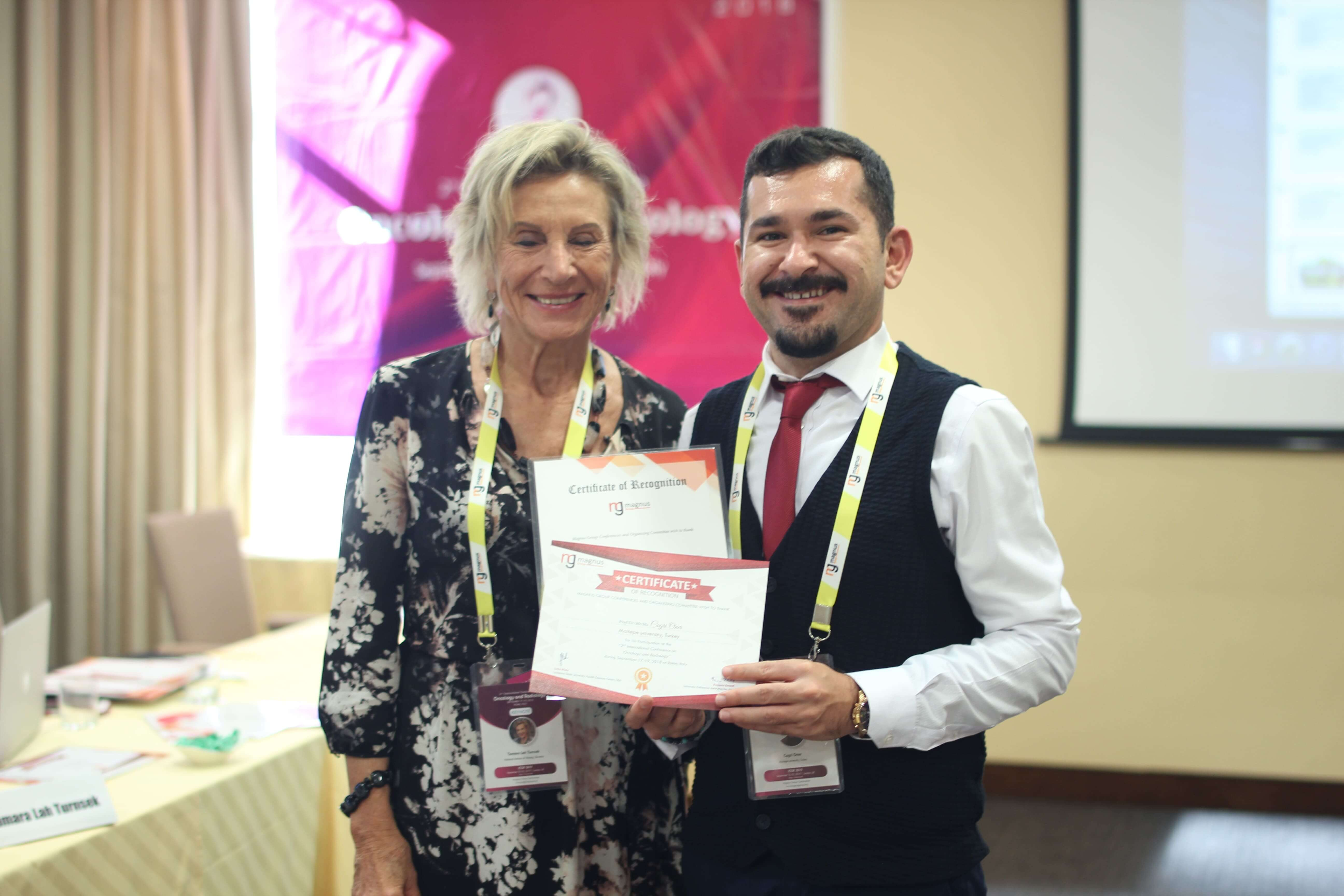 Cancer research conferences - Cagri Oner