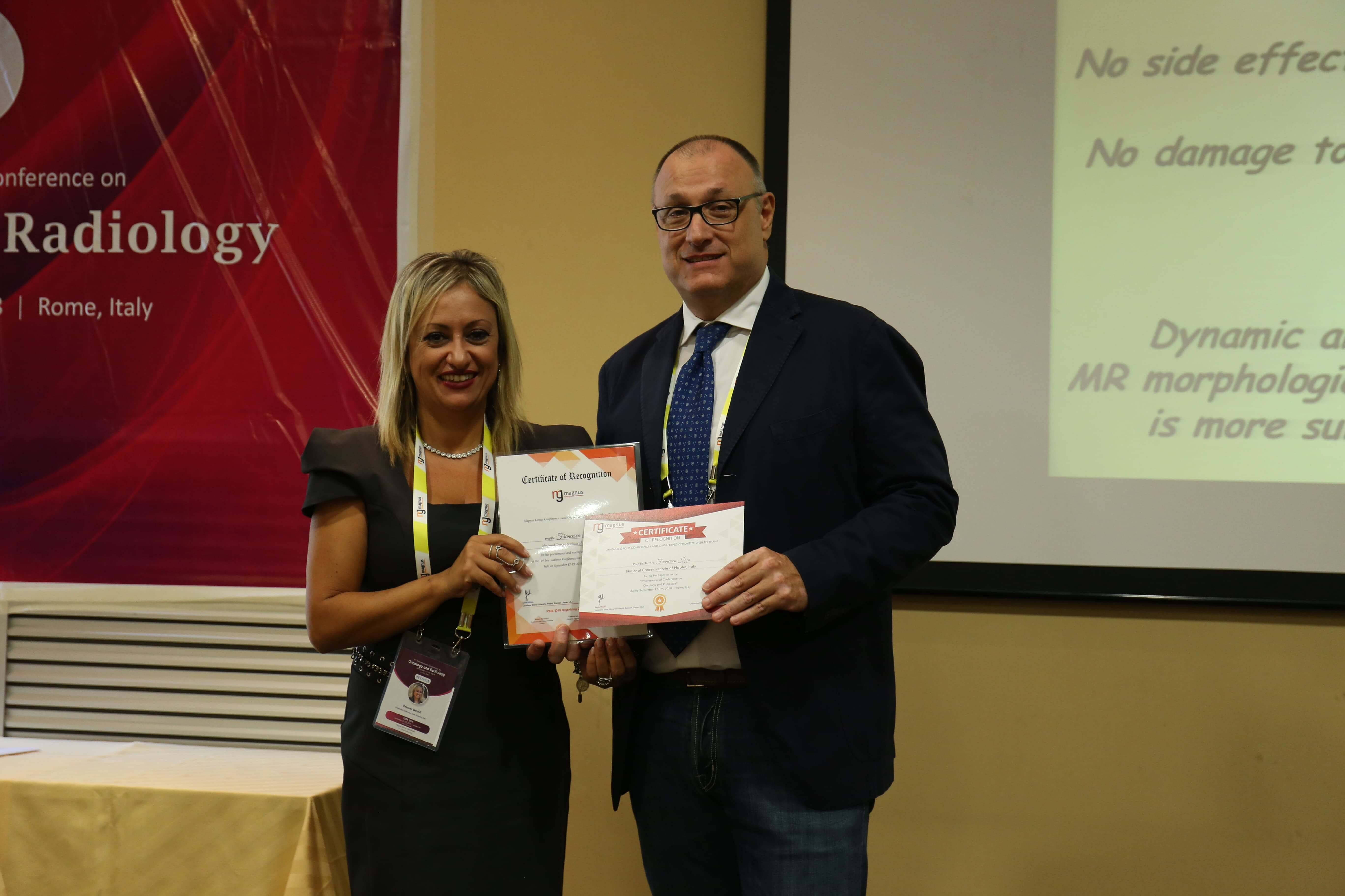 Cancer Conferences - Francesco Izzo