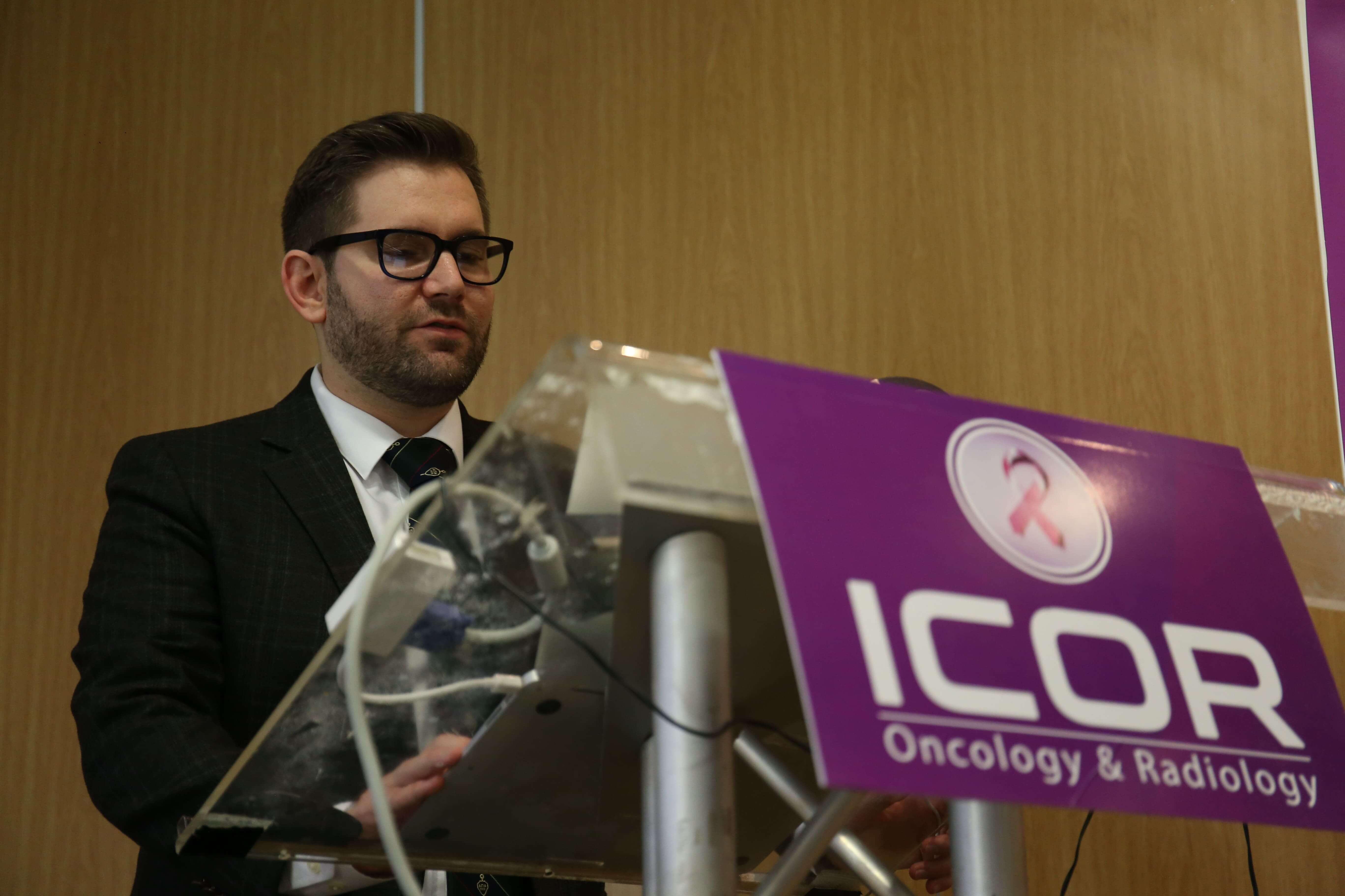 Cancer Conferences - Joshua D. Palmer