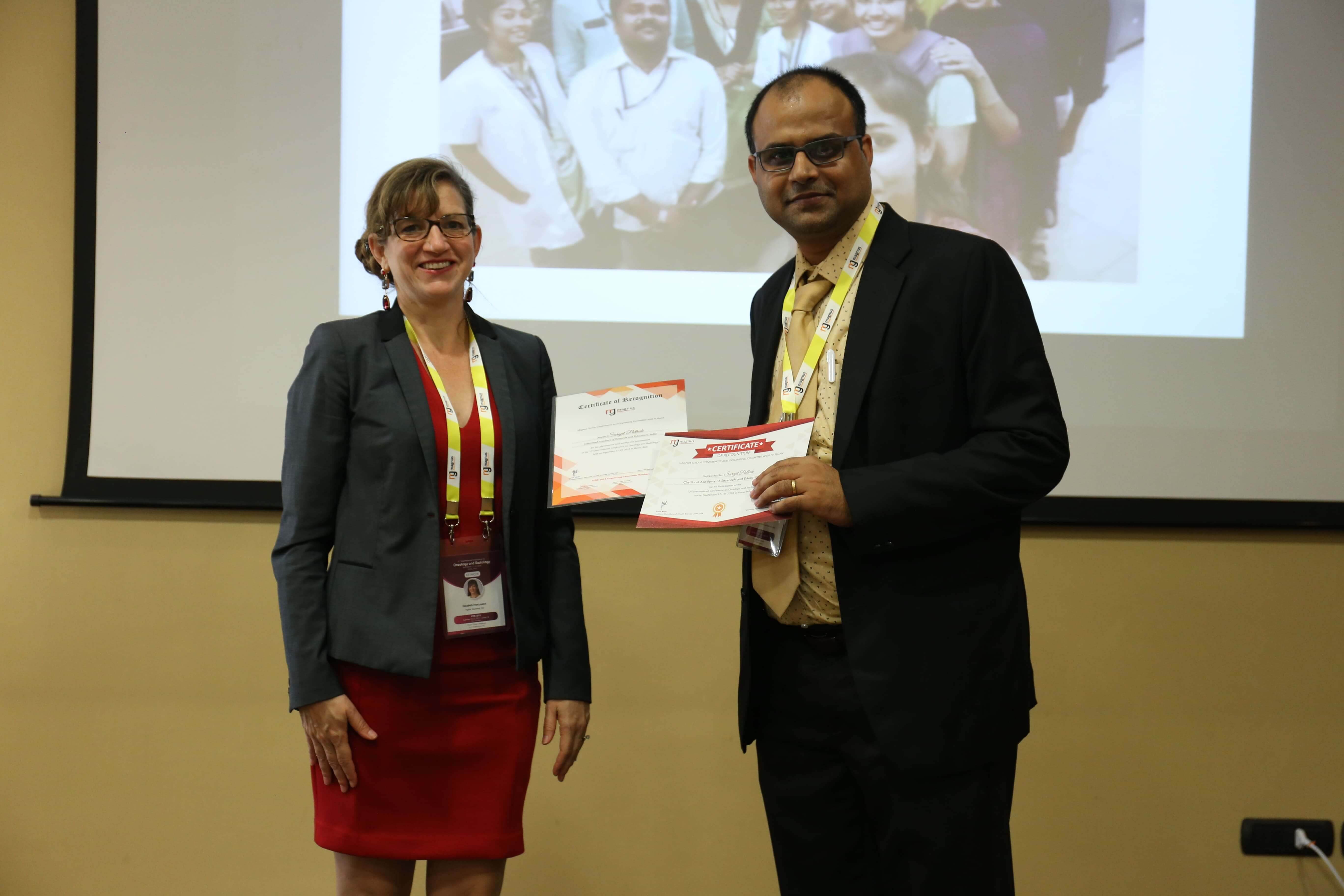 Cancer conference - Surajit Pathak